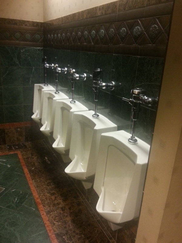 Men's Bathroom Urinals