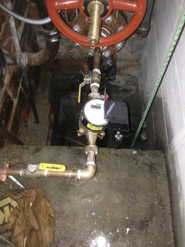 Water Meter Shut Offs