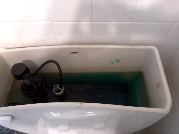 Running leaking toilets